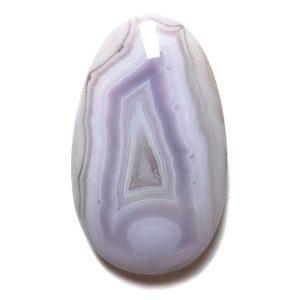 Cab268 - Purple Agate Cabochon