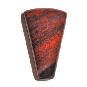Cab3088 - Red Jasper Hematite
