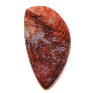Cab536 - Red Moss Agate Cabochon