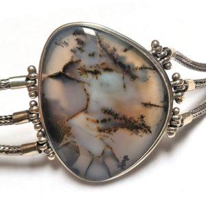 Dentritic Agate Bracelet 1