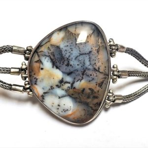 Dendritic Agate Bracelet 2