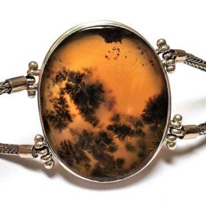 Dendritic Agate Bracelet 3