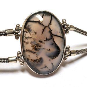 Dendritic Agate Bracelet 5