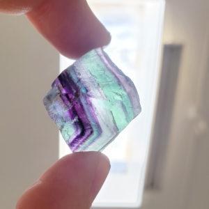 Fluorite Cube 1