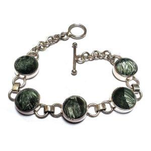 Seraphinite Bracelet 12