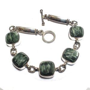 Seraphinite Bracelet 17