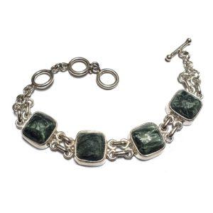 Seraphinite Bracelet 19
