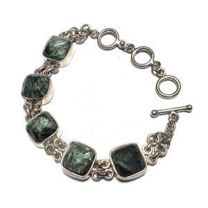 Seraphinite Bracelet 21