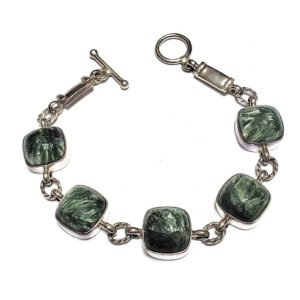 Seraphinite Bracelets in Sterling Silver