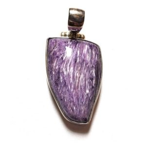 Charoite Pendants in Sterling Silver
