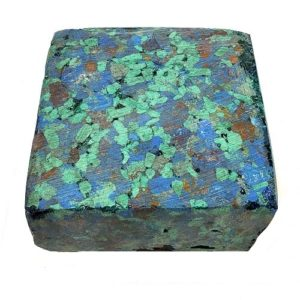 Azurite and Malachite Pressed Chip Block - $75.00/lb