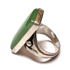 Nephrite Jade Ring #2