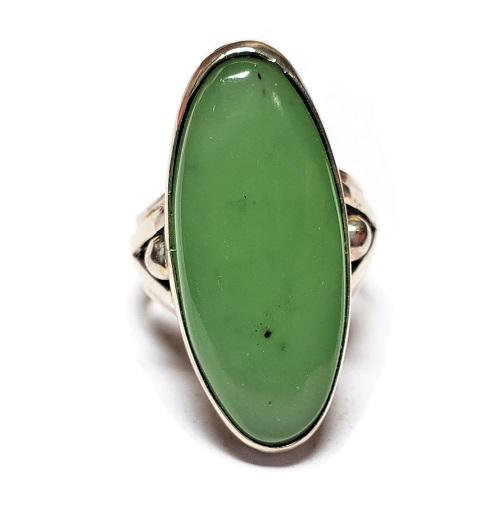 Nephrite Jade Ring #4
