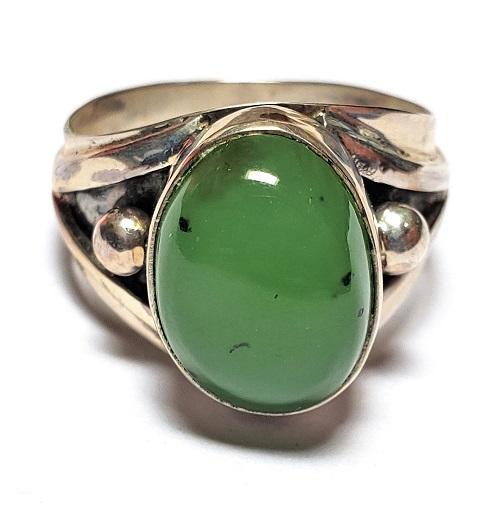 Nephrite Jade Ring #5