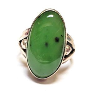 Nephrite Jade Ring #7