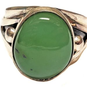 Nephrite Jade Ring #9