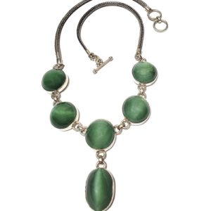 Cat's Eye Jade Necklace 1