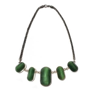 Cat's Eye Jade Necklace 2
