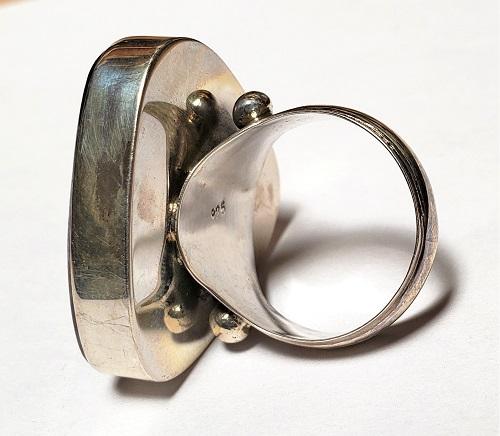 Charoite Ring #10