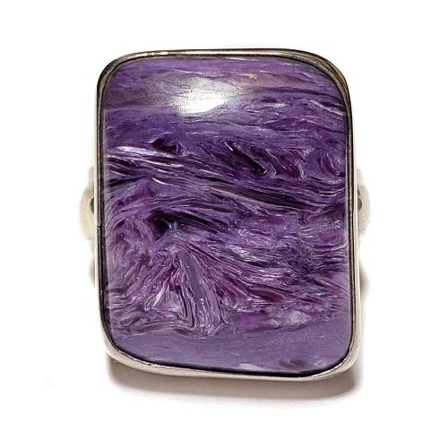 Charoite Ring #12