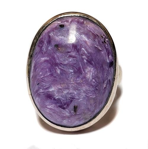 Charoite Ring #19