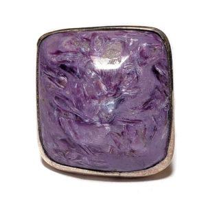 Charoite Ring #21