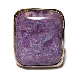 Charoite Ring #24