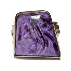 Charoite Ring #8