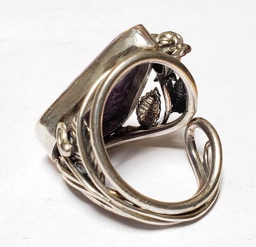Charoite Ring #5