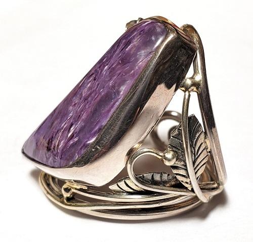 Charoite Ring #9