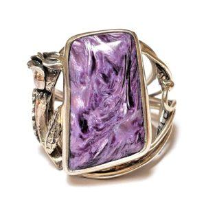 Charoite Ring #7