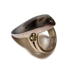 Dendritic Agate Ring #1