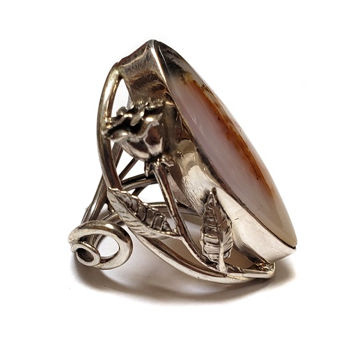 Dendritic Agate Ring #10