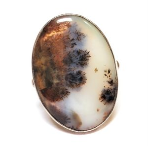 Dendritic Agate Ring #15