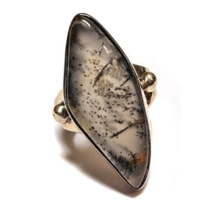 Dendritic Agate Ring #2