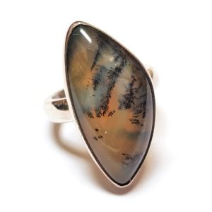 Dendritic Agate Ring #8