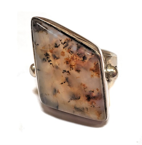 Dendritic Agate Ring #5