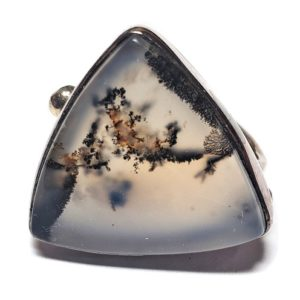 Dendritic Agate Ring #4