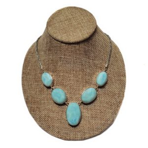 Larimar Necklace in Sterling Silver 3