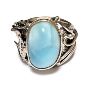 Larimar Ring #7