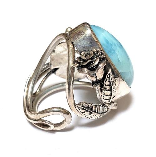 Larimar Ring #8