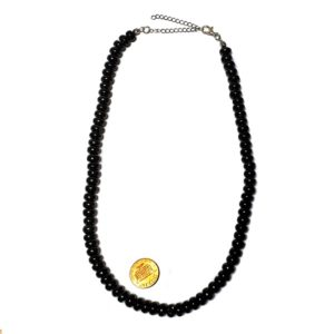 Petrovsky Shungite Necklace Rondelle