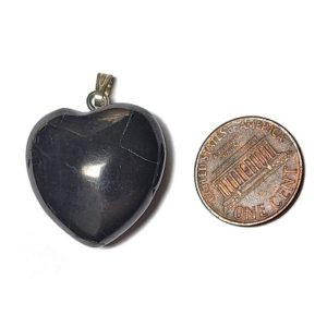 Petrovsky Shungite Heart Pendants
