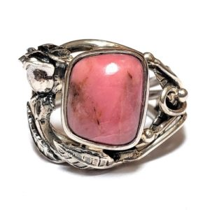 Rhodonite Ring #11