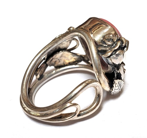 Rhodonite Ring #11