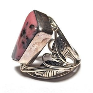 Rhodonite Ring #13