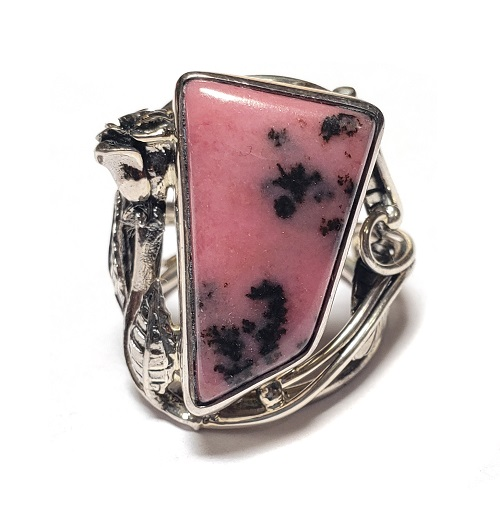Rhodonite Ring #13