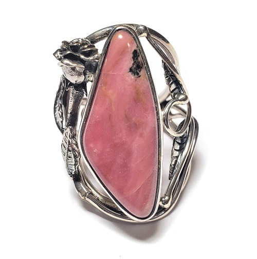 Rhodonite Ring #14
