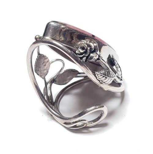 Rhodonite Ring #15