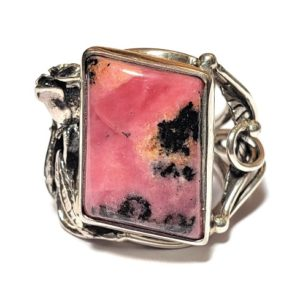 Rhodonite Ring #5
